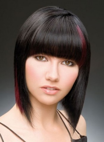 Black Hair with Highlights02