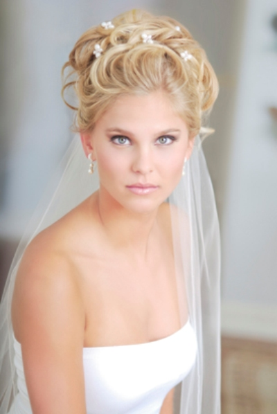Elegant hairstylesfor wedding