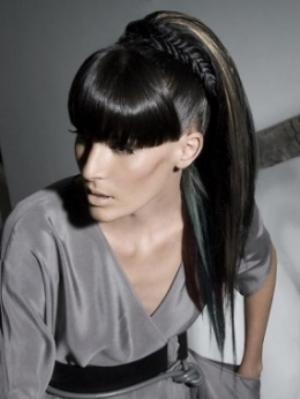 Elegant ponytail hairstyles01