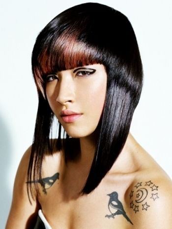Hair highlights 03