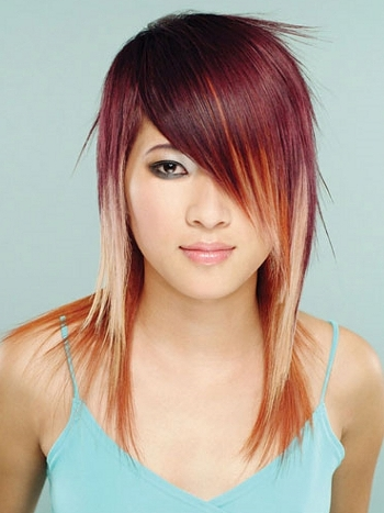 How to wear vibrant hair color haircuts and hairstyles for 2017 hair highlights pmusecretfo Image collections
