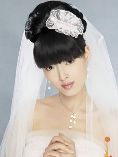 Japanese hairstyles wedding