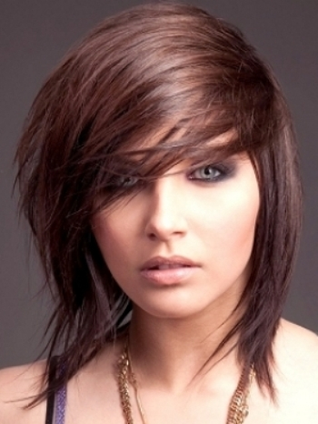Straight layered hairstyles 04