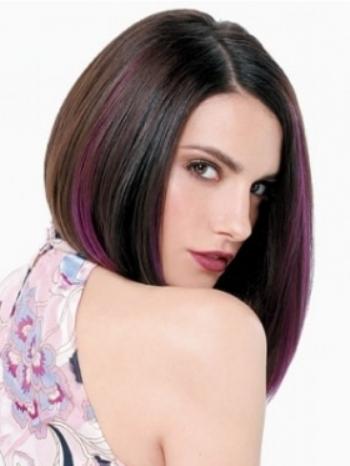 Stylish hair highlights