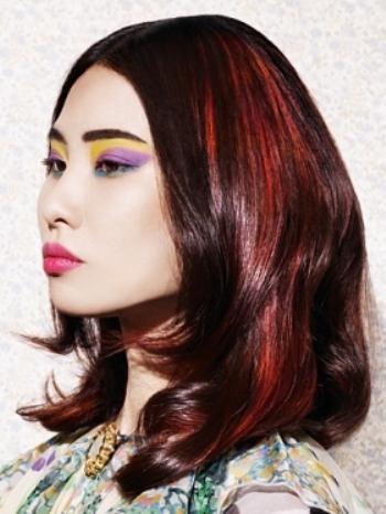 Stylish hair highlights03