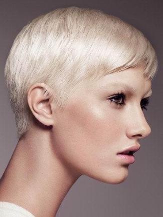 2014 blonde short hairstyle