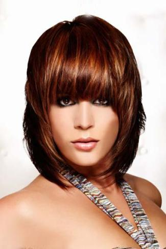 Glamorous hair highlights 1