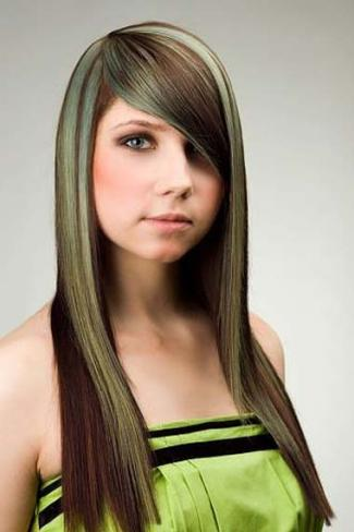 Glamorous hair highlights 2014
