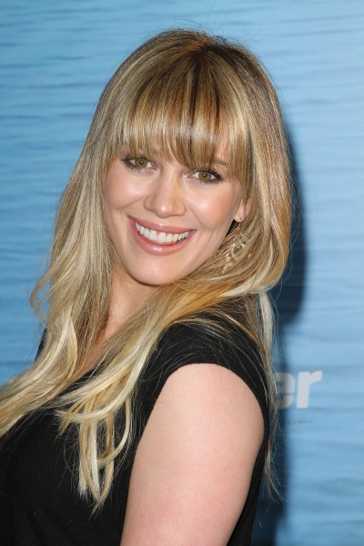 Hilary Duff blonde hairstyle 2019
