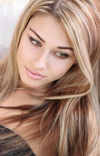 blonde highlights shades