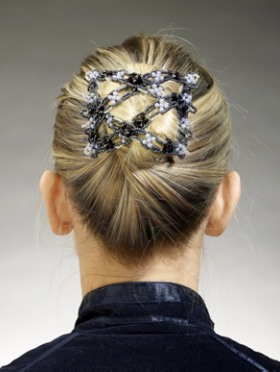 bun hairstyle for formal events