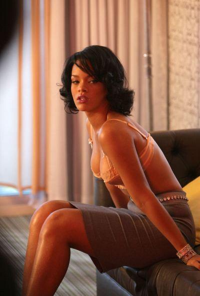 Rihanna's sexy bob hairstyle