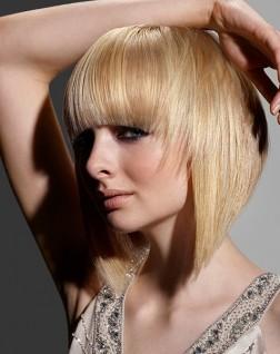 russel aton bob hair style