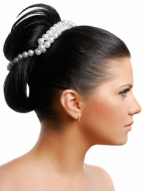 simple hairstyle for wedding