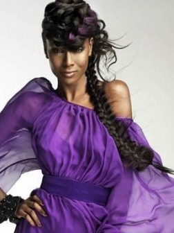 Black woman braided hairstyles