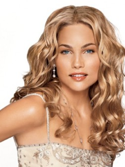 Elegant long blonde hairstyles