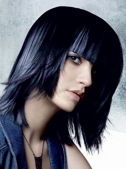 Layered Hairstyles Bangs