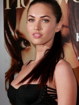 Megan Fox ponytail Hair