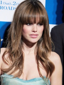 Rachel bilson hair with bangs