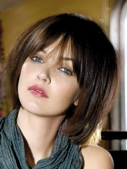 cool layered medium hairstyle