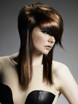 coute long layered hairstyles