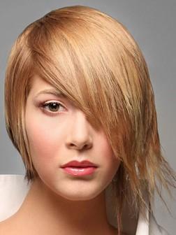 medium Choppy layered hairstyle