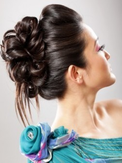 summer updo hairstyle