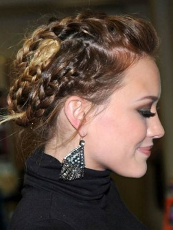 Chic Braided Hairstyles 2013