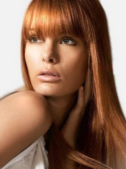 Long Hairstyles with Bangs 2013