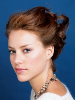 Loose updo hairstyles 2013