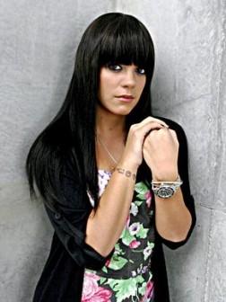 Lily Allen hair styles