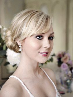 Formal Chignon hairstyle 2014