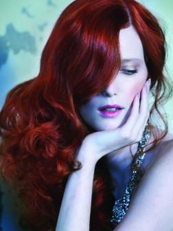 dark red hair color 2015