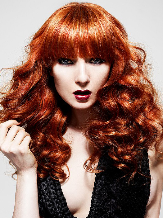 Natural Looking Red Hair Color