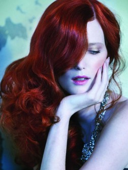 ruby red hair color 2015