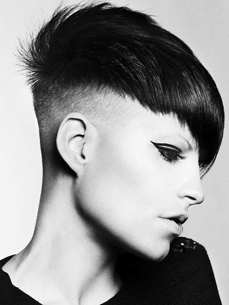 2015 Winter Undercut Hairstyle