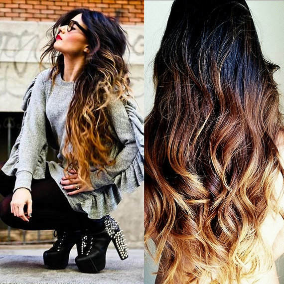 2015 Winter Ombre Hairstyle